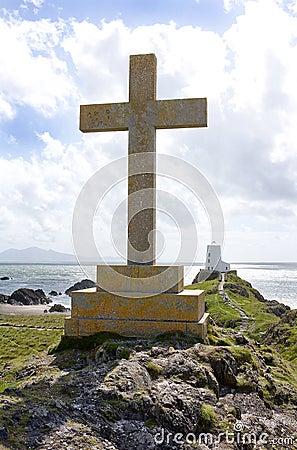 Christian Cross Monument