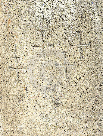 Free Christian Cross Symbols Texture Royalty Free Stock Images - 6683839