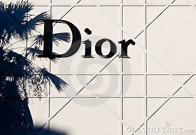 Christian Dior Editorial Stock Image