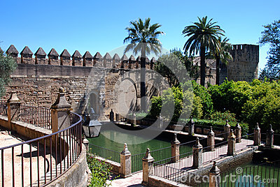 Christian Kings Fortress, Cordoba, Spain. Royalty Free Stock Photo - Image: 2...