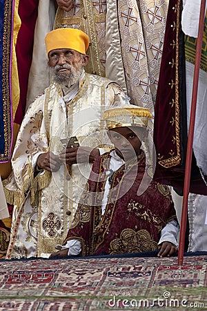 Christian Orthodox devotees Editorial Image