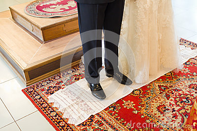 Christian orthodox wedding ceremony
