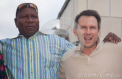 Christian Slater and Ving Rhames Editorial Photography