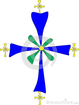 Christian symbol: Coptic cross