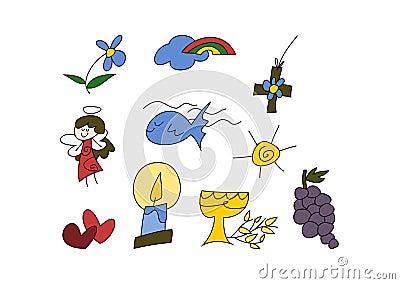 Christian symbols for kids