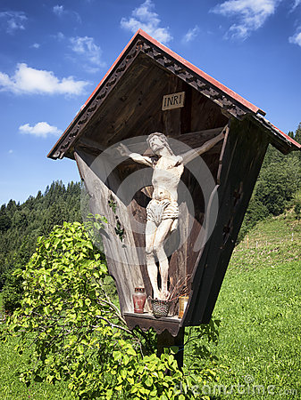 Free Christian Wayside Shrine Royalty Free Stock Photography - 35913507