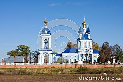 Christianity monastery in Dunilovo
