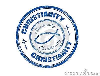Christianity stamp