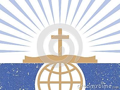 Christians Abstract Symbols Stock Image Image 33323211
