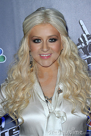 Christina Aguilera Editorial Stock Image