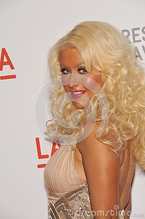 Christina Aguilera Editorial Image