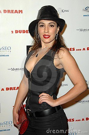 Christina DeRosa at the Los Angeles Premiere of  2 Dudes and a Dream . Arclight Hollywood, Hollywood, CA. 02-03-09 Editorial Image