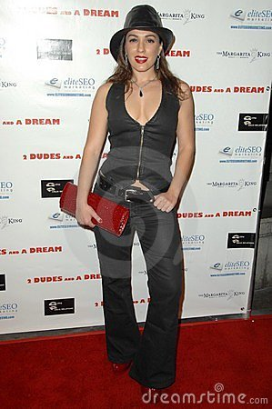 Christina DeRosa at the Los Angeles Premiere of  2 Dudes and a Dream . Arclight Hollywood, Hollywood, CA. 02-03-09 Editorial Stock Image