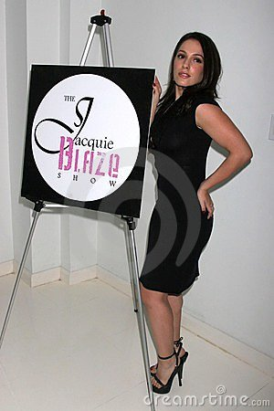 Christina DeRosa at the Mansion Party Hosted By British Talk Show Host Jacquie Blaze. Private Residence, Beverly Hills, CA. 12-07- Editorial Photography