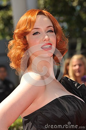 Christina Hendricks Editorial Stock Photo