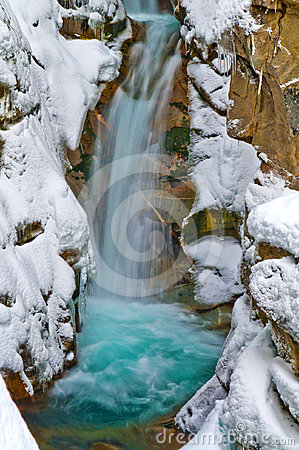 Christine Falls in Winter