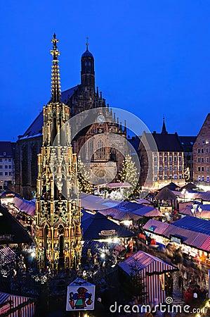 Free Christkindlesmarkt In Nuremberg Stock Images - 19865034