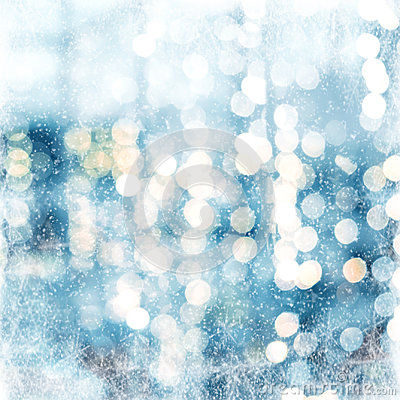 Free Christmas Abstract Blur Background Stock Image - 98247811