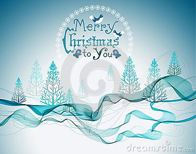 Christmas abstract greeting background