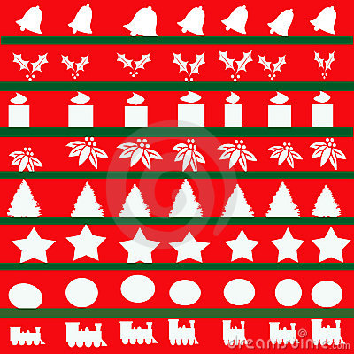 Christmas Abstract Illustration