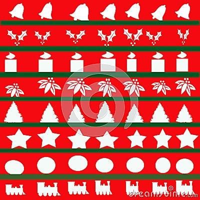 Christmas Abstract Illustration