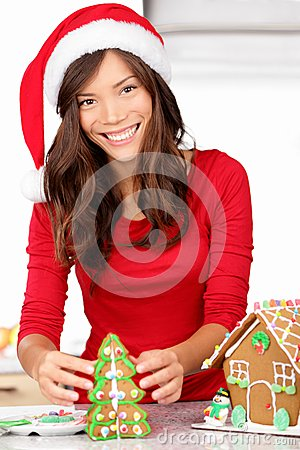 Christmas activities - gingerbread house
