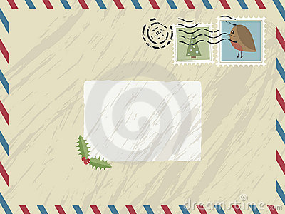 Christmas airmail