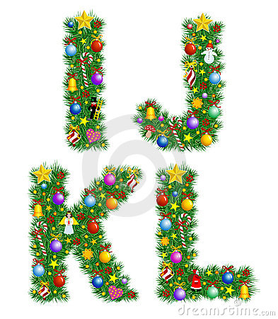 Free Christmas Alphabet Royalty Free Stock Photo - 3608925