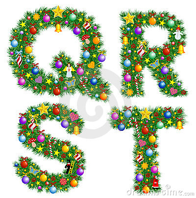 Free Christmas Alphabet Stock Images - 3609184