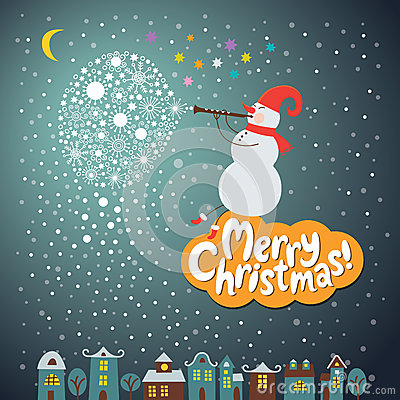 Free Christmas And New Years Card Royalty Free Stock Photo - 27838315