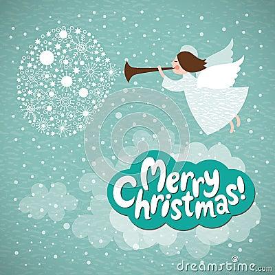 Free Christmas Angel Royalty Free Stock Photos - 27838268