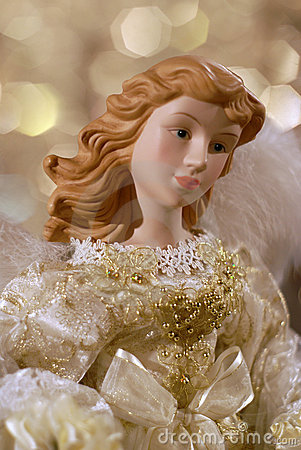 Christmas Angel Closeup