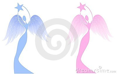 Christmas Angel Holding Star Royalty Free Stock Image - Image: 3497246