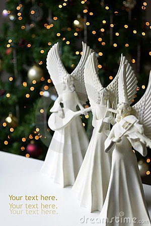 Free Christmas Angels Royalty Free Stock Photo - 11950645