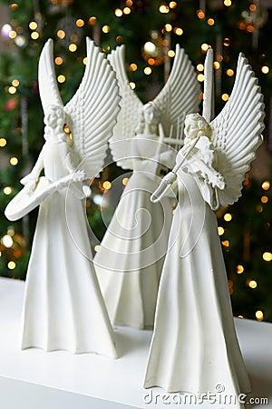 Free Christmas Angels Stock Image - 11950741