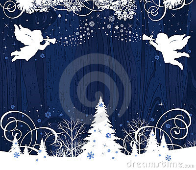 Royalty Free Stock Photography: Christmas Angels. Image: 16119347