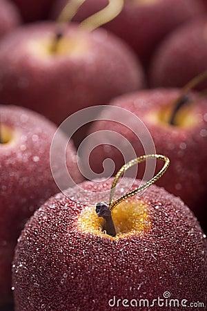 Christmas apples