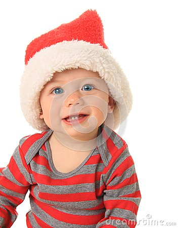 Christmas Baby Stock Images - Image: 26582364