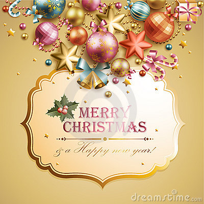 Free Christmas Background Stock Photo - 22012680
