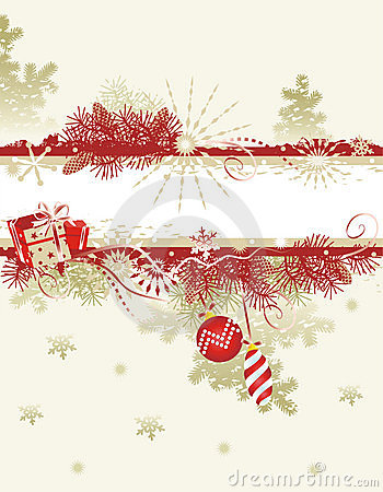 Free Christmas Background Royalty Free Stock Images - 3498669
