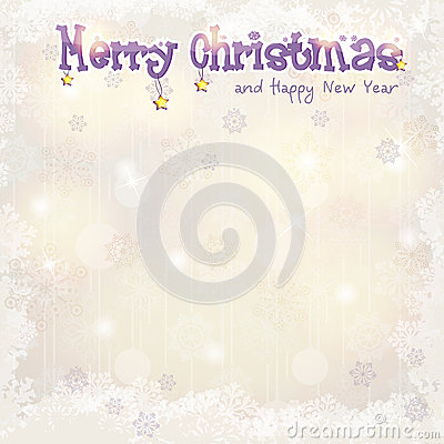 Christmas background for greeting cards and New Year