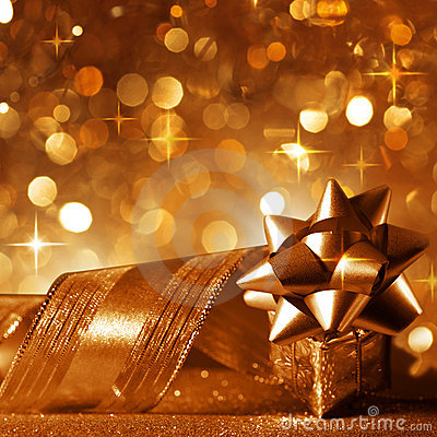 Free Christmas Background In Copper Stock Images - 20041324