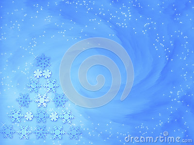 Christmas background -  Let it snow