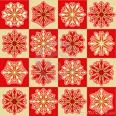 Christmas background or pattern