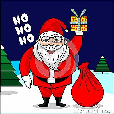 Santa Claus vector illustration Vector Illustration