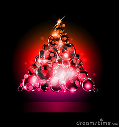 Christmas Backgrounds with Stunning Baubles