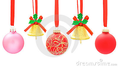 Christmas ball and bell
