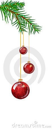 Christmas ball illustration