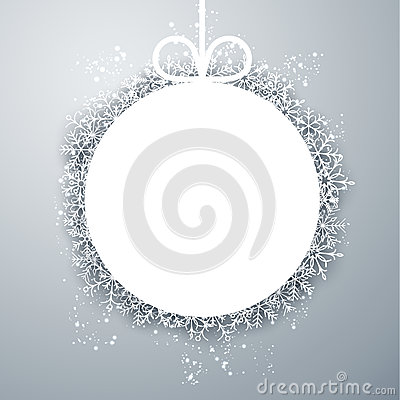 Free Christmas Ball Light Abstract Background. Royalty Free Stock Photo - 46508975