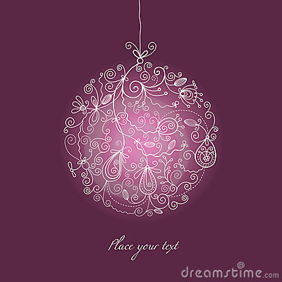 Free Christmas Ball Ornament Royalty Free Stock Photography - 11536577
